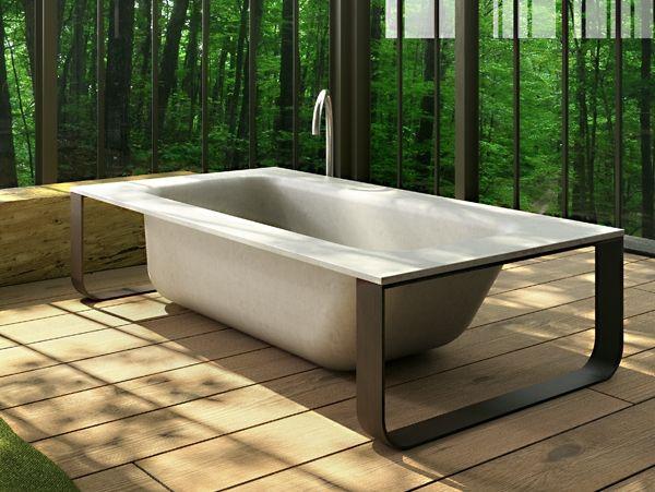 48 Best Concrete Bathtubs Images On Pinterest Bathroom