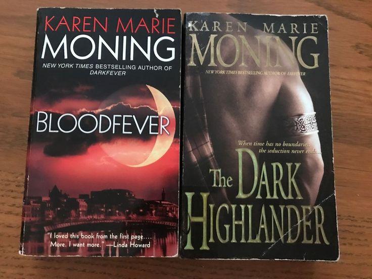 The 25 best karen marie moning ideas on pinterest fever series karen marie moning lot of 2 bloodfever the dark highlander paperback fandeluxe Images