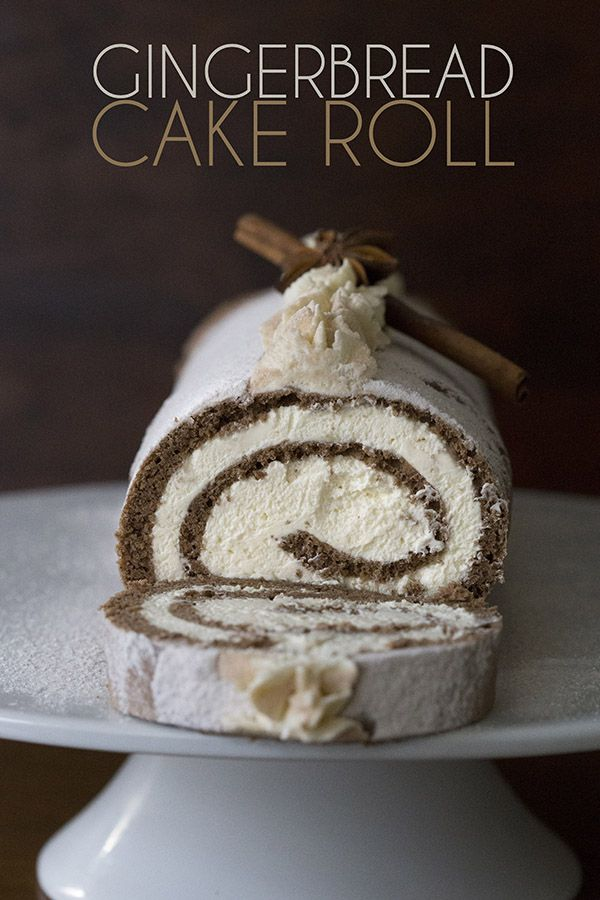Your low carb keto holiday dessert dilemma has been solved! Keto Gingerbread Cake Roll. LCHF THM Banting Atkins recipe.  via @dreamaboutfood