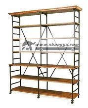 Стиле лофт мебель распродажа качества сделать старый ретро утюг старый ель разное отображения полка полка книжный шкаф(China (Mainland))