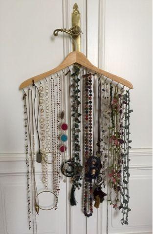necklace holder diy