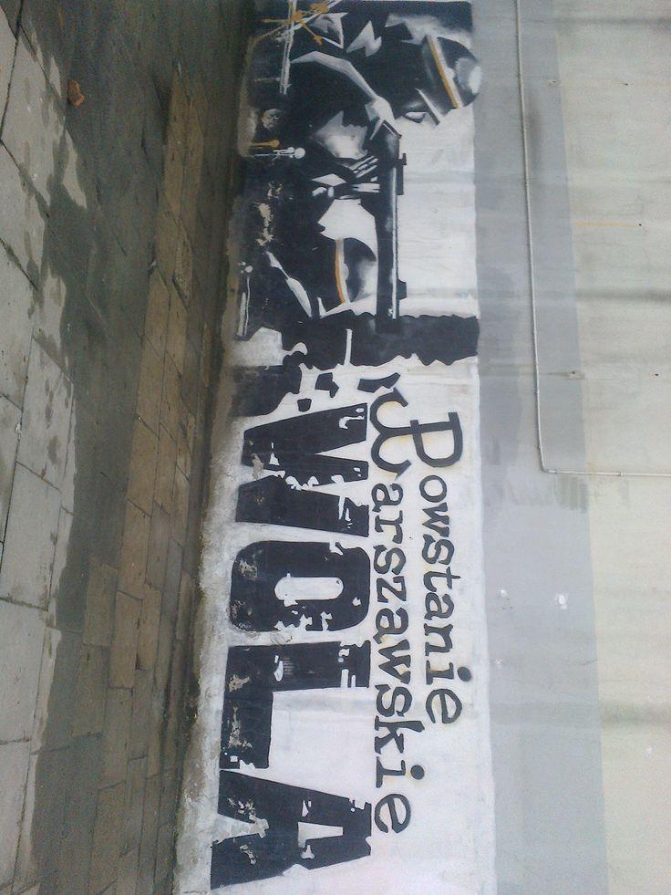 Grafity Powstanie Warszawskie 26.02.16 r