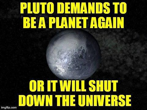 planet pluto not a meme - photo #12