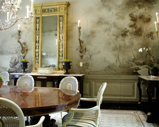I Love The Mural In Dining Room Idea By Art Studio Sergey