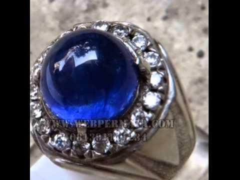 Jual Batu Cincin Ruby Blue Sapphire Cateye | Batu Bacan Info