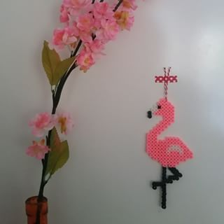 strijkkralen flamingo - Google zoeken