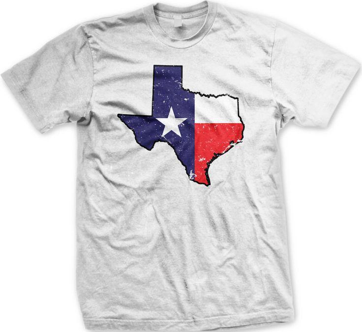 Texas State Shaped Flag Men's T-shirt, Texas Shaped Flag Shirt, State of Texas Flag Shirt, Texas Pride, TX, Men's Texas T-shirt GH_00602_tee by TheTShirtShoppe on Etsy https://www.etsy.com/listing/229078927/texas-state-shaped-flag-mens-t-shirt