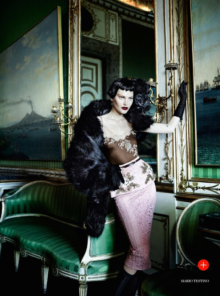 Prima Donna: Catherine Mcneil By Mario Testino For Uk Vogue September 2013