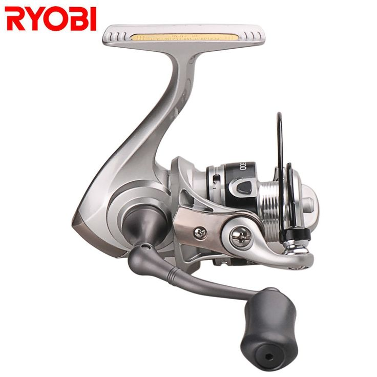 26.19$  Buy here - http://ai3r6.worlditems.win/all/product.php?id=32493820772 - Ryobi 500 800 Spinning Reel 5.2:1 3+1BB Metal Spool Fishing Reel Saltwater Molinete Para Pesca Carretilhas De Pescaria Carp Coil