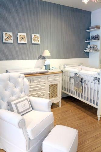 Veja decorações de quartos de bebê que fizeram sucesso com os pais em 2013 - Gravidez e Filhos - UOL Mulher #azul #masculino