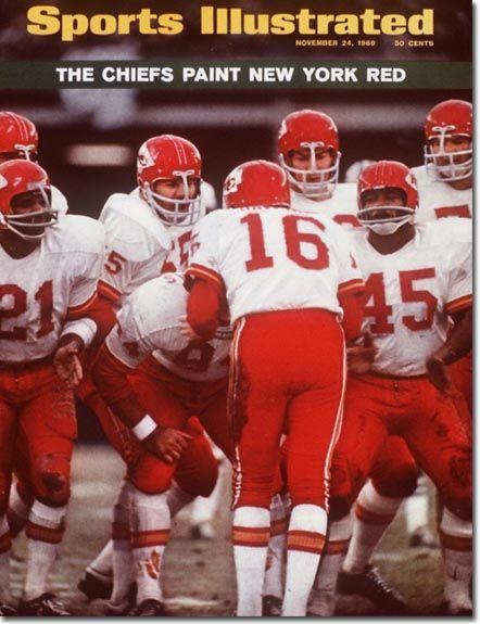 November 24, 1969 - The Kansas City Chiefs, soon to be Super Bowl champs.