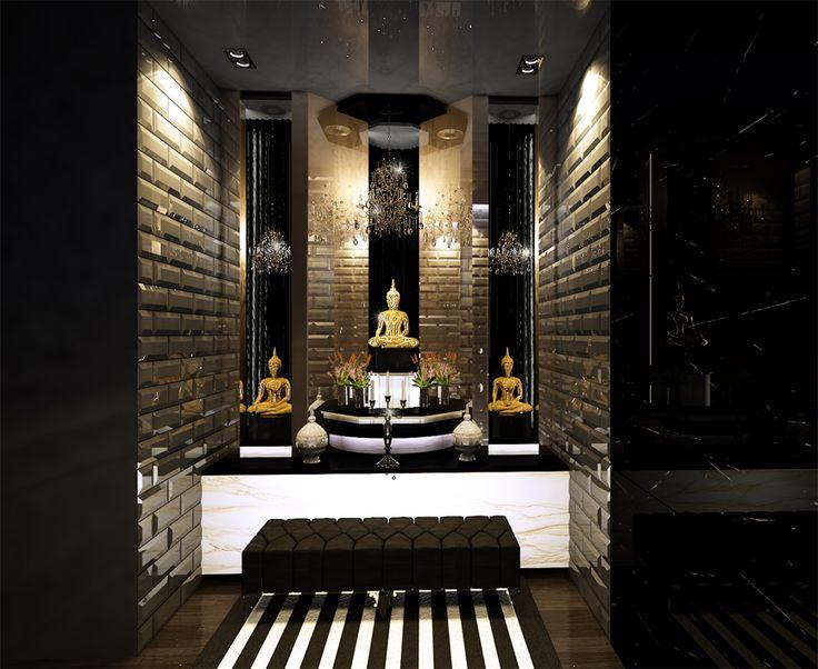 Buddhist Praying Room