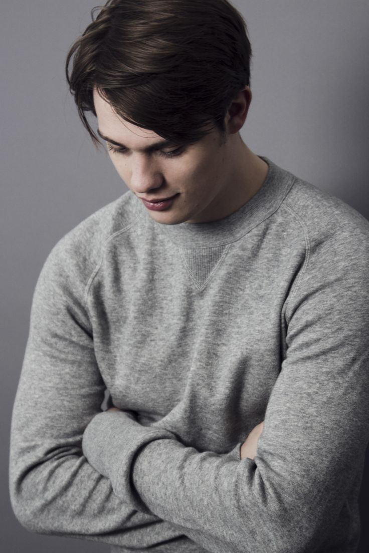 Actor Nicholas Galitzine for The Picture Journal. Sweater by TOM FORD. Photographer: Jessie Craig. Stylist: Christopher Preston. Grooming: Jennie Roberts using OJON and ORIGINS