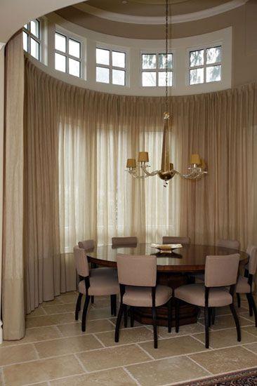 elegant linen draperies hand made by katherine