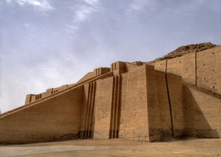 Ziggurat, | Ziggurat of Ur by The Outback Traveler in Architecture, Dhi Qar  .