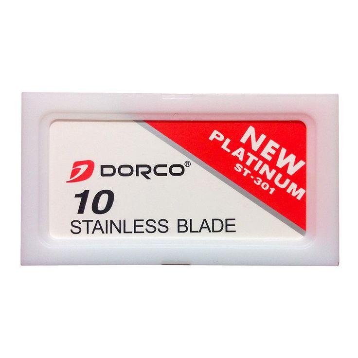 10 Dorco ST-301 Double-Edge Safety Razor Blades