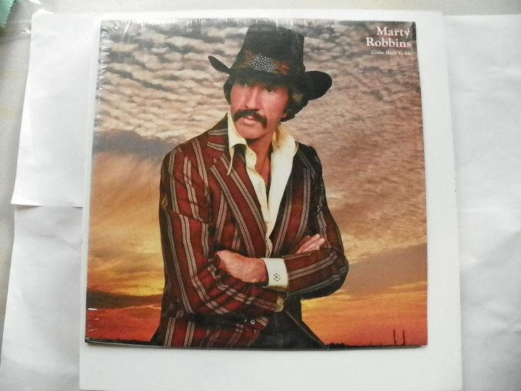 MARTY ROBBINS LP 33 SHRINK COME BACK TO ME COLUMBIA RECORDS FC 37995 NM 1982 #ContemporaryCountryCountryPopTraditionalCountry