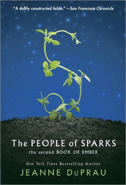 The People of Sparks by Jeanne DuPrau (Book 2 of 4 from the City of Ember Saga)