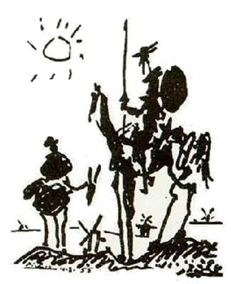 Pablo Picasso - Don Quijote