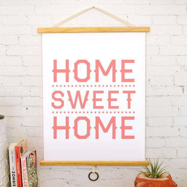 Home Sweet Home Print   dotandbo.com