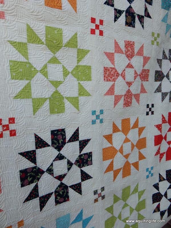 Moda three strip pinwheel quilt pattern you have