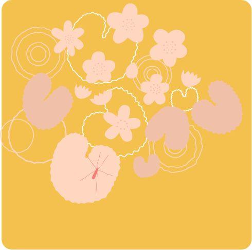 Marsh Marigold #print #original #Bergfrida
