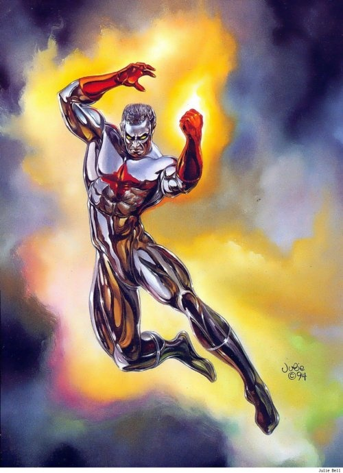 CAPTAIN ATOM by Julie Bell | DC Universe | Comics, Julie ...