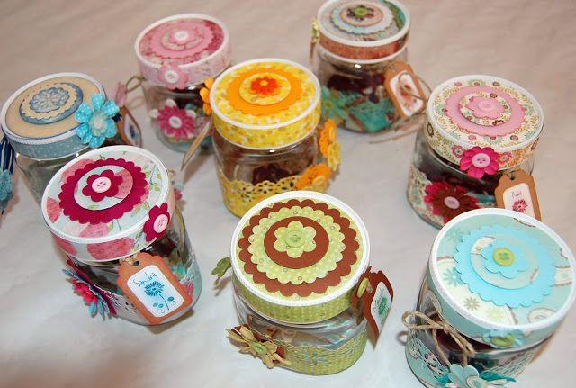 Somia en Colors: Botes de Nutella scrapeados