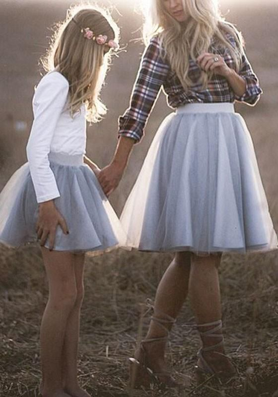 dfc117c78 Light Grey Grenadine Fluffy Puffy Tulle High Waisted Plus Size Tutu Party  Skirt
