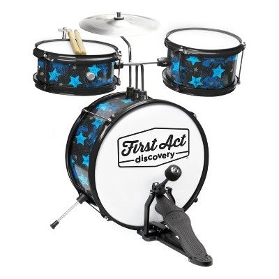 First Act Discovery Rock Stars Drum Set : Target
