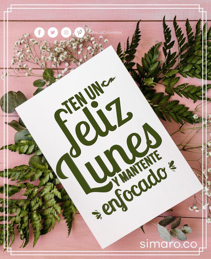 Feliz Lunes  http://simaro.co/ @SimaroColombia #SimaroColombia #FelizLunes #HappyWeek #FelizSemana #SimaroCo  #LoEncontramosPorTi #SimaroBr  #SimaroMx  #TiendaOnline #ECommerce #Diversion #Novedades #Compras #Regalos #Descuentos