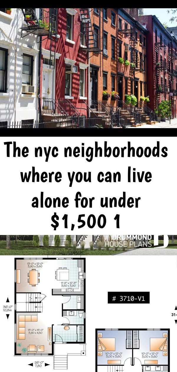 The nyc neighborhoods where you can live alone for under