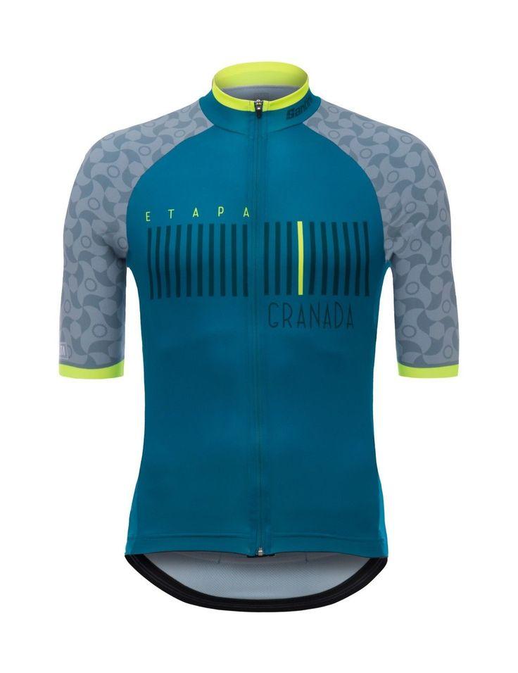 2017 La Vuelta a Espana Granada Cycling Jersey: Made in Italy by Santini