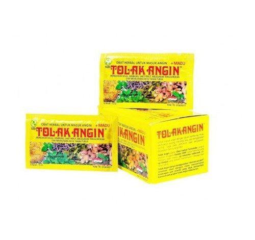24 Sachets (individual sachets is 15 ml) TolakAngin / Tolak Angin Fever Herbal