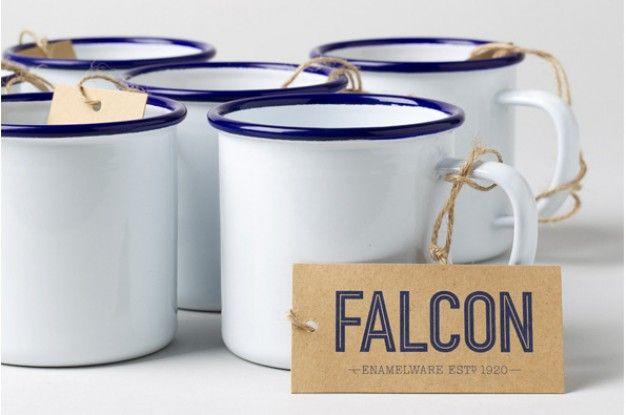 Falcon Enamelware by Morse Studio | FUTU.PL