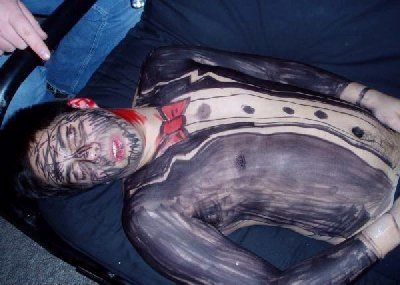 The lesson here? Do not be the first person to pass out at a party. It may not end well.