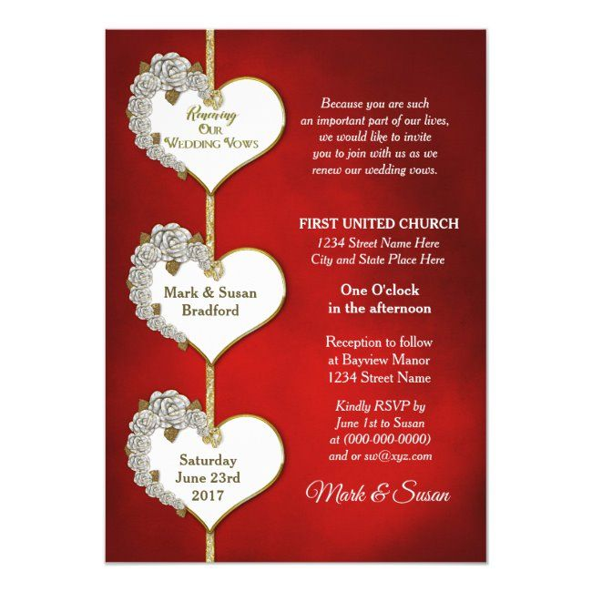 Valentine Roses Renewing Wedding Vows Invivitati Invitation Affiliate Ad Wedding Vows Invivit In 2020 Wedding Renewal Vows Wedding Invitations Valentines Roses