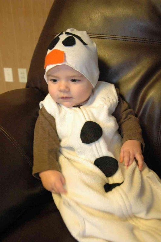 Olaf baby costume
