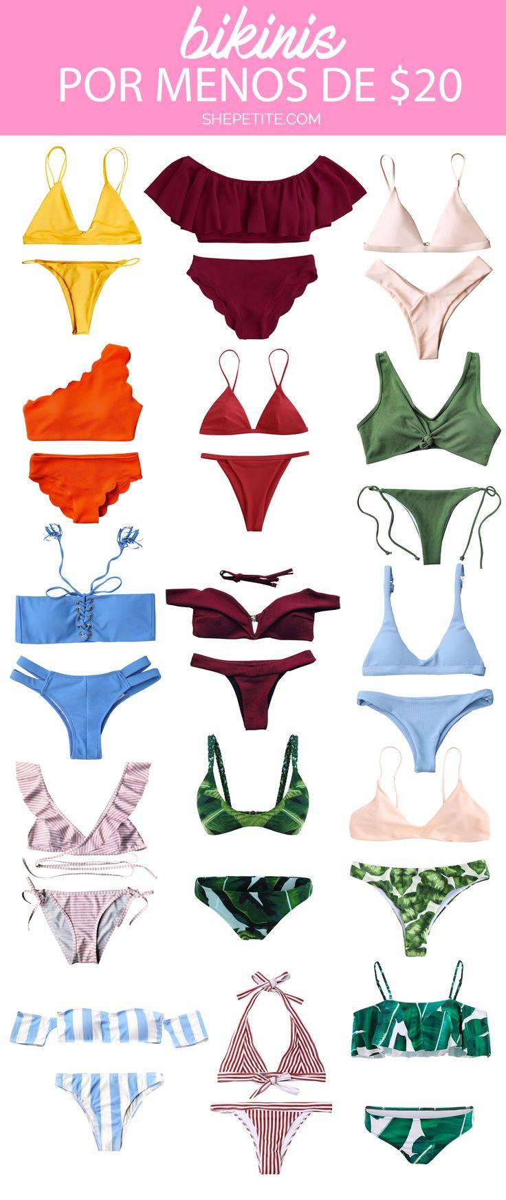 Dónde comprar bikinis por menos de $20 dólares