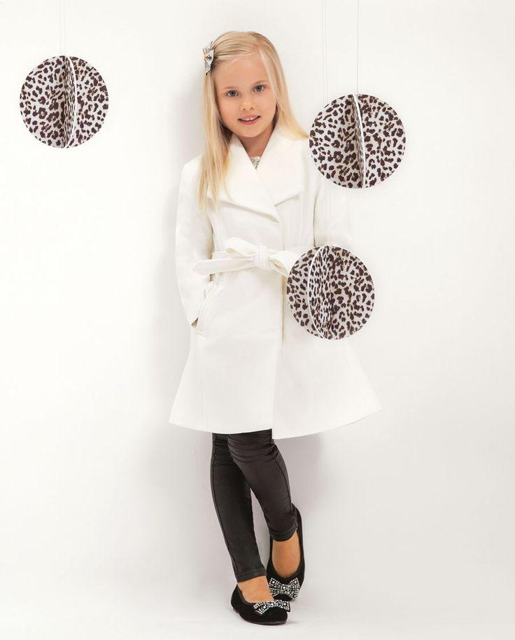 Little Girl's Abbey Trench - Bardot Junior