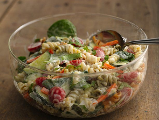 Ranch Spinach Pasta Salad: Spinach Pasta Salads, Favorite Salads, Pasta Salad Yum, Food Salads, Side Dish Recipes, Soups Salads, Salads Dressings, Boxed Salad, Salads Slaws Etc