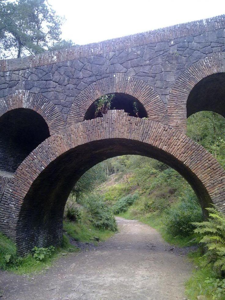 Lever Park in the village of Rivington, Lancashire, England-Visitable