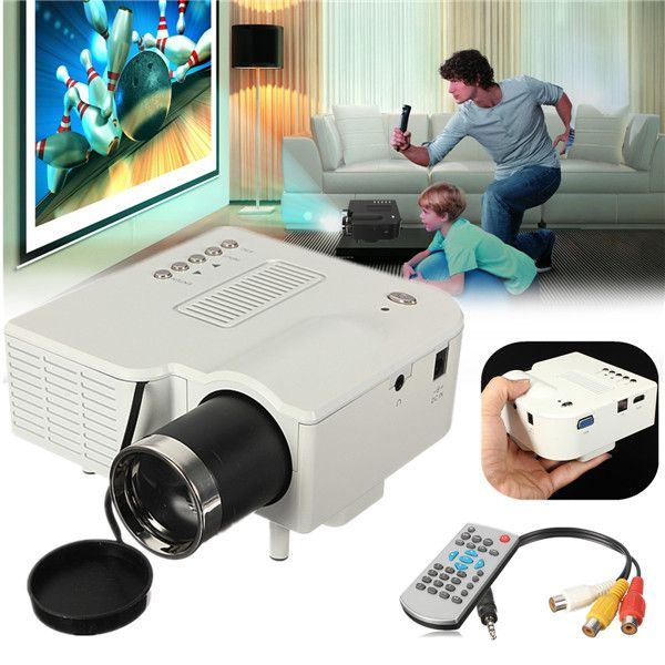 ==> [Free Shipping] Buy Best Hot Sale UC28 Portable led Projector Multimedia Mini Home projector full hd Cinema VGA/USB/SD/AV/HDMI Input Online with LOWEST Price | 32561941889
