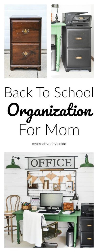 Back to School Organization   Mom Organization   Dad Organization