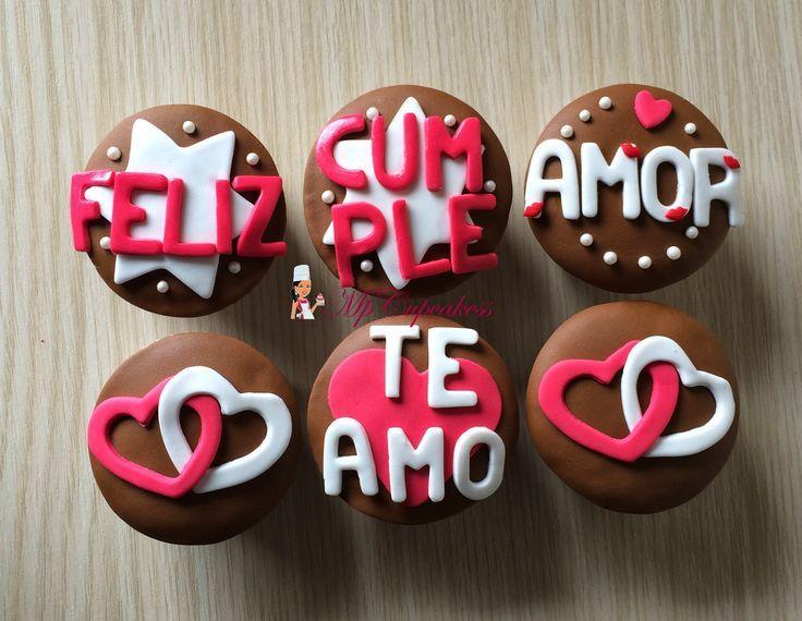 Feliz Cumpleaños amor con corazones