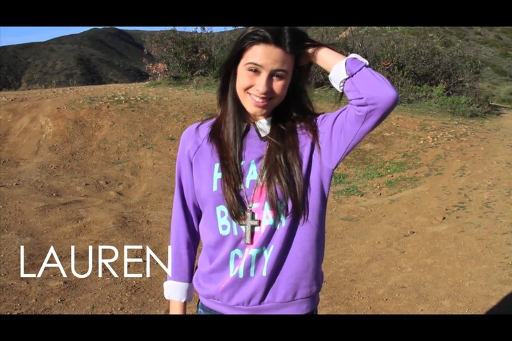 Lauren Cimorelli's shirt is the best | For Caidence ...