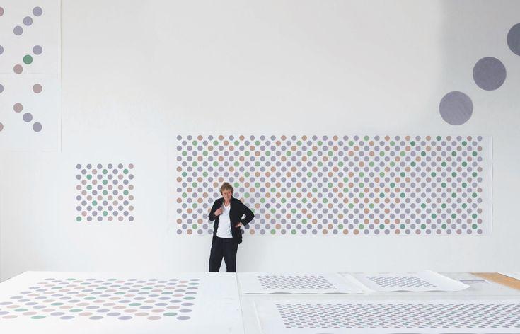 Bridget Riley. Recent paintings 2014-17.  David Zwirner Gallery London. 19 Jan - 10 Mar 2018