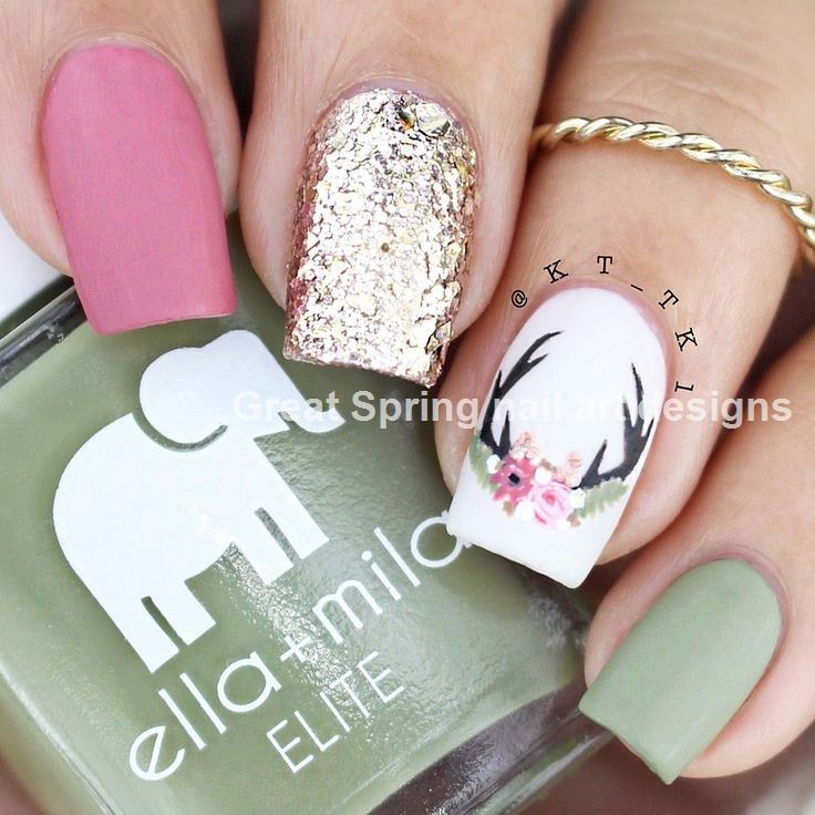 20 Great Spring Nail Designs 2019