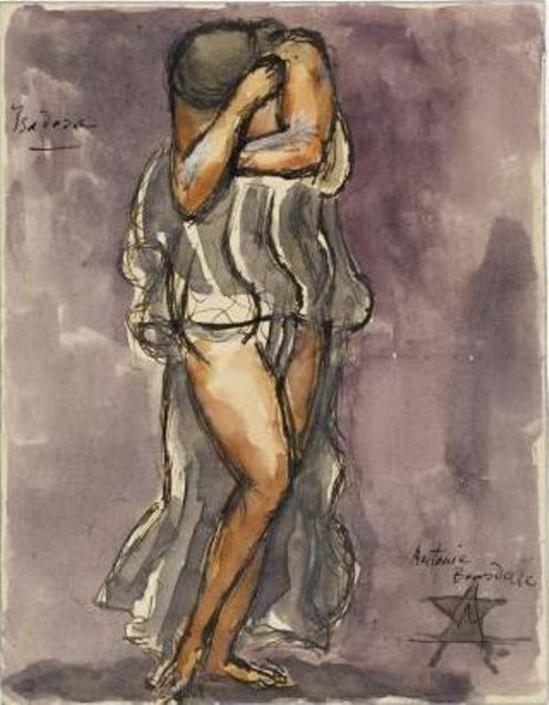 Antoine Bourdelle - Isadora Duncan