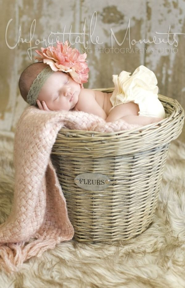 """Love that the basket says """"FLEURS"""", what a beautiful photo op~❥"""
